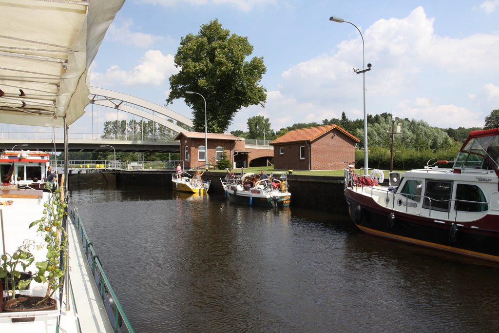 Schleuse im Elbe-Lübeck-Kanal