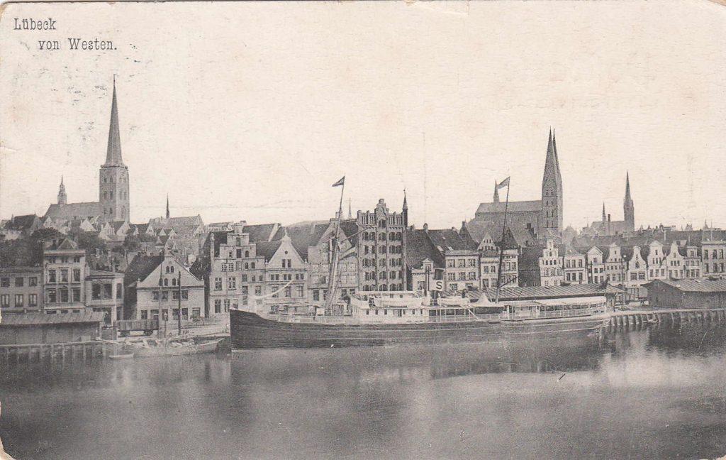 Der Hansahafen einst...