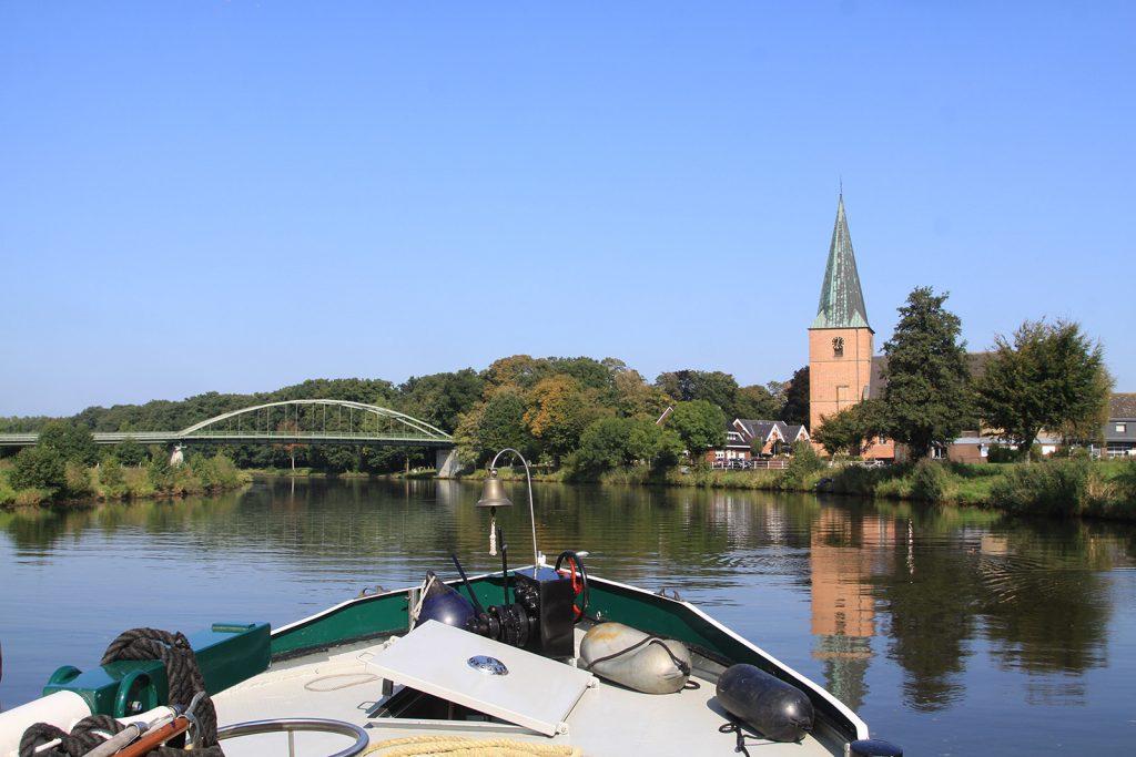 Das Dorf Steinbild am Dortmund-Ems-Kanal