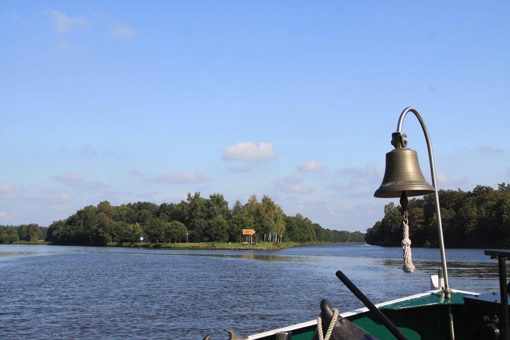 Abzweigung des Küstenkanals vom Dortmund-Ems-Kanal