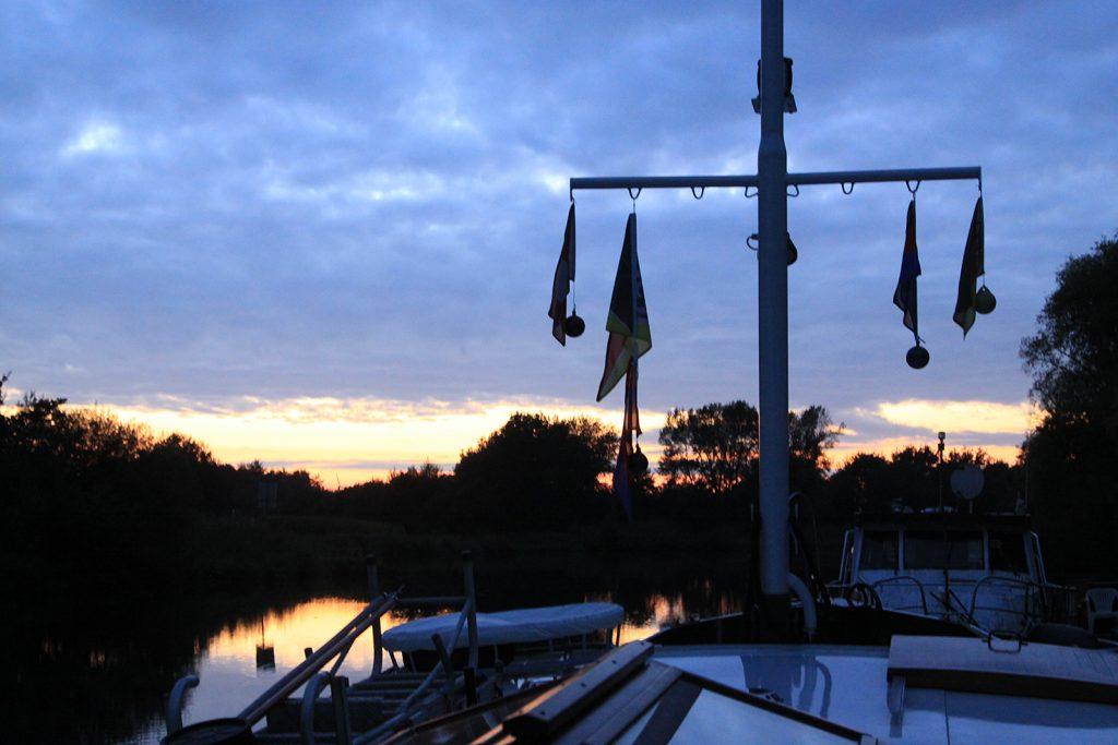 Sonnenuntergang vor Herbrum