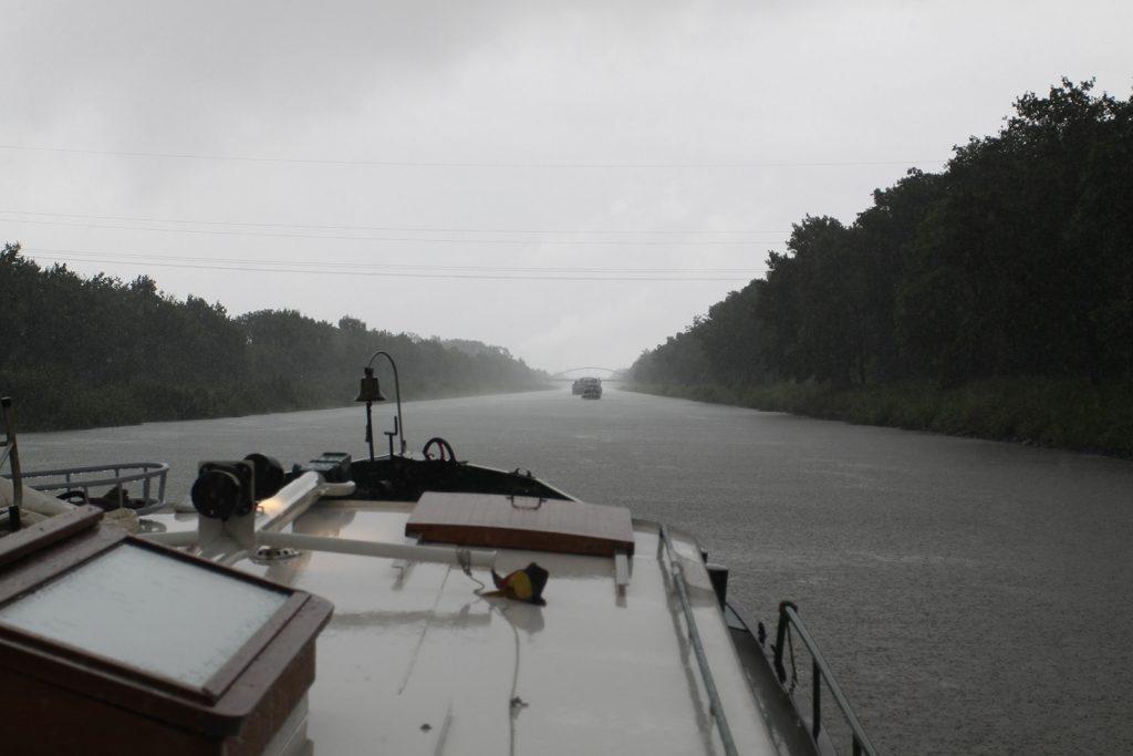 Drei Tage Dauerregen