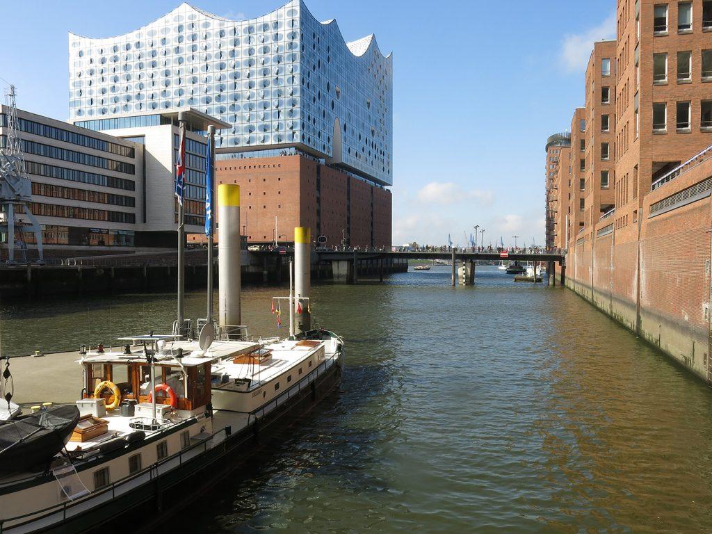 Unser Liegeplatz in Hamburg