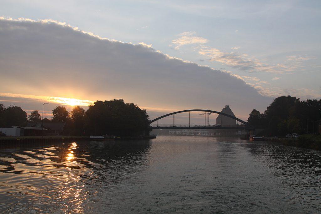 Morgenstimmung auf dem Mittellandkanal