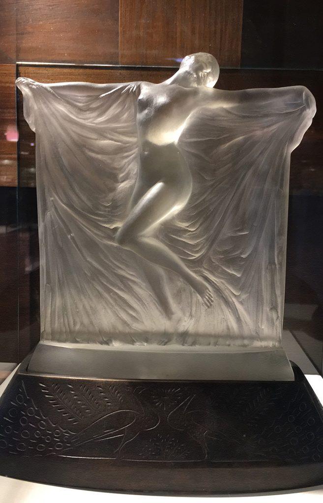 Eine Lampe von René Lalique